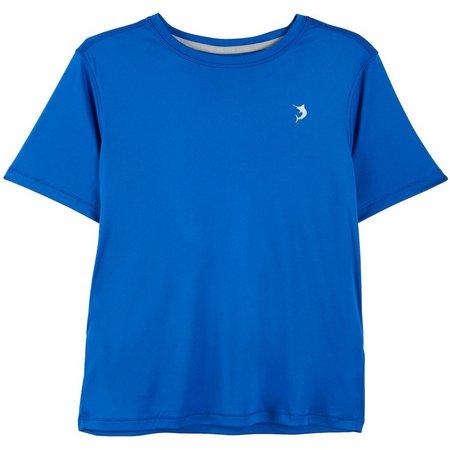 Reel Legends Big Boys Reel-Tec Marlin USA T-Shirt