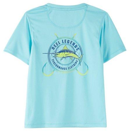 Reel Legends Big Boys Reel-Tec Code T-Shirt