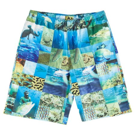 Reel Legends Big Boys AquaFlauge Swim Short