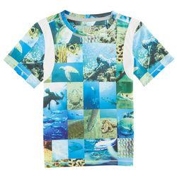 Reel Legends Little Boys AquaFlauge Nolan T-Shirt