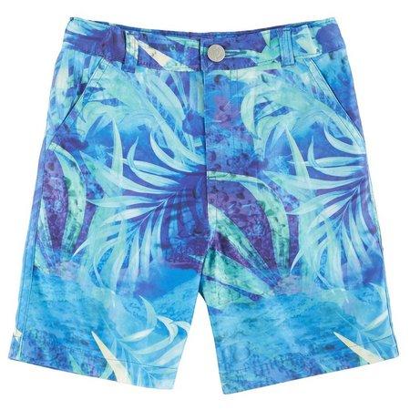 Reel Legends Little Boys Splash Hybrid Shorts