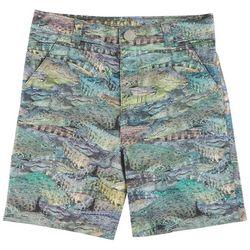 Reel Legends Little Boys Gator Bait Hybrid Shorts