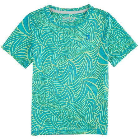 Reel Legends Little Boys Freeline Santa Cruz Shirt