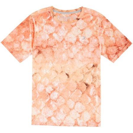 Reel Legends Big Boys AquaFlauge Snapper T-Shirt
