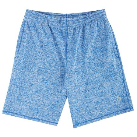 Reel Legends Big Boys Heather Knit Shorts