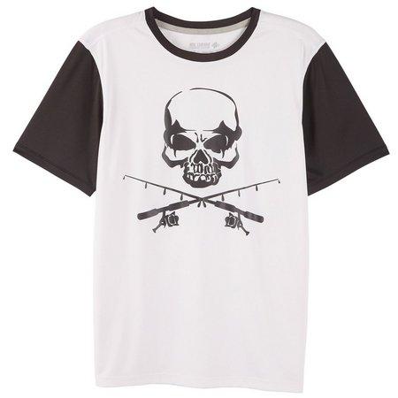 Reel Legends Big Boys Reel-Tec Skull T-Shirt