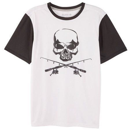 Reel Legends Little Boys Reel-Tec Skull T-Shirt