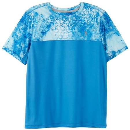Reel Legends Big Boys Reel-Tec Marble T-Shirt