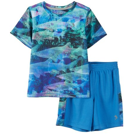 Reel Legends Little Boys Reel-Tec Shorts Set