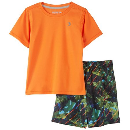 Reel Legends Little Boys Reel-Tec Zone Shorts Set
