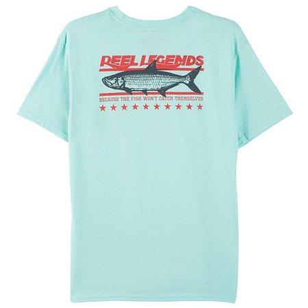 Reel Legends Big Boys Fish Catch T-Shirt