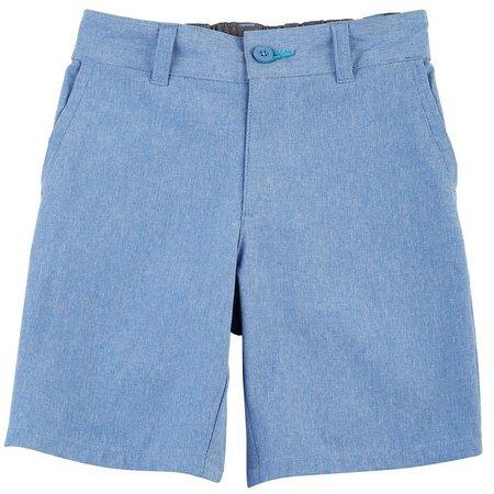 Reel Legends Little Boys Solid Dye Mackerel Shorts
