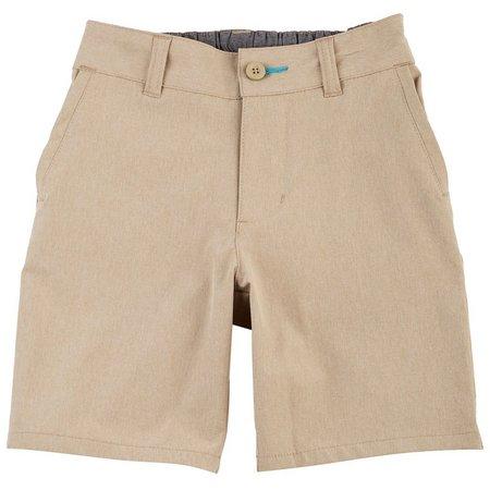 Reel Legends Big Boys Solid Mackerel Shorts