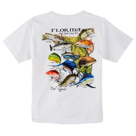 Reel Legends Big Boys Florida Game Fish T-Shirt