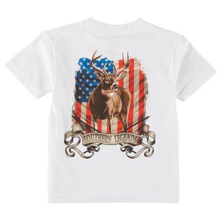 Southern Legends Big Boys American Deer T-Shirt