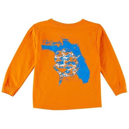 Reel Legends Big Boys Digi Dorado T-Shirt