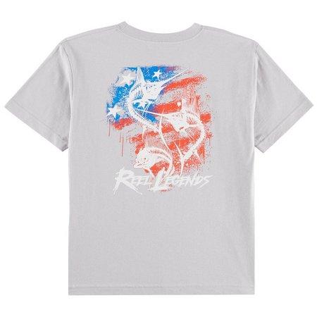 Reel Legends Big Boys Offshore Slam T-Shirt