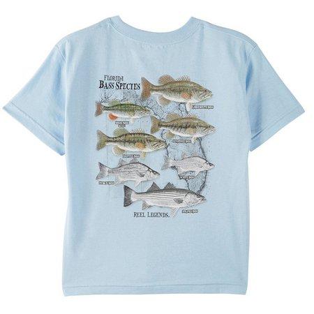 Reel Legends Big Boys Bass T-Shirt