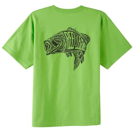 Reel Legends Big Boys Largemouth Bass T-Shirt
