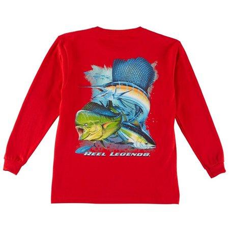 Reel Legends Big Boys Offshore T-Shirt