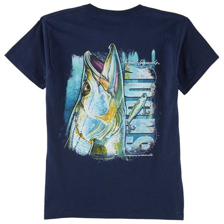Reel Legends Big Boys Snook T-Shirt