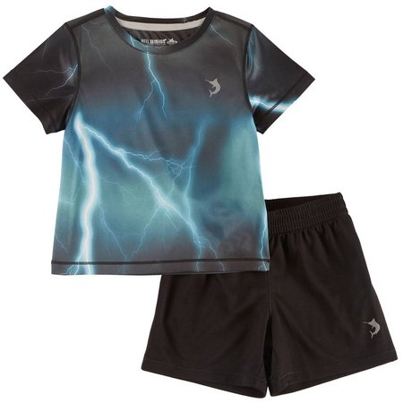 Reel Legends Toddler Boys Reel-Tec Thunderbolt Shorts Set