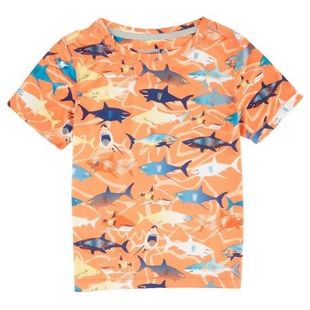 Reel Legends Toddler Boys Freeline Sharks T-Shirt