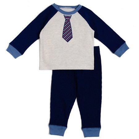 Cutie Pie Baby Toddler Boys Necktie Pants Set