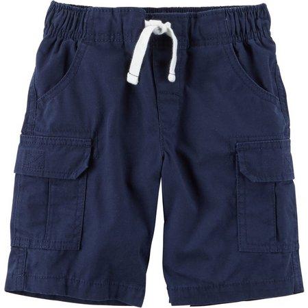 Carters Toddler Boys Faux Drawstring Cargo Shorts