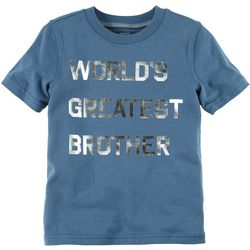 Carters Toddler Boys Greatest Brother T-Shirt
