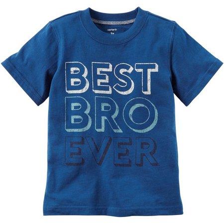 Carters Toddler Boys Best Bro Ever T-Shirt