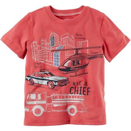Carters Toddler Boys No.1 Chief T-Shirt