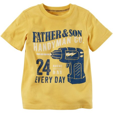 Carters Toddler Boys Father & Son T-Shirt
