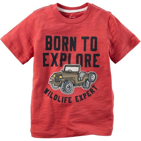 Carters Toddler Boys Born to Explore T-Shirt