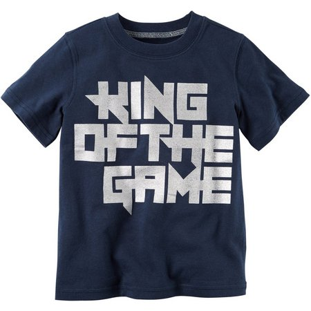 Carters Toddler Boys King of the Game T-Shirt