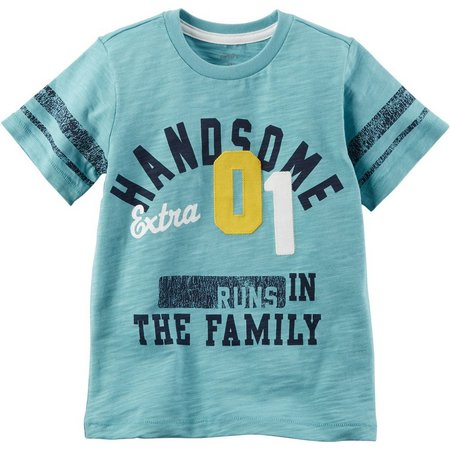 Carters Toddler Boys Runs in the Family T-Shirt