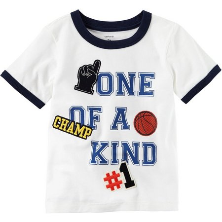 Carters Toddler Boys One of a Kind T-Shirt