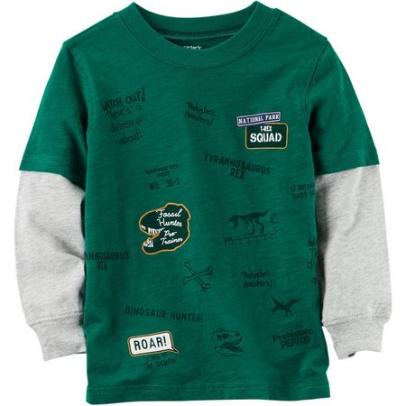 Carters Toddler Boys Mommy's T-Rex Squad T-Shirt