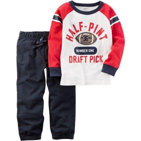 Carters Toddler Boys 1/2 Pint Draft Pick Pants