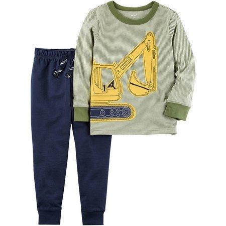 Carters Toddler Boys Construction Pants Set
