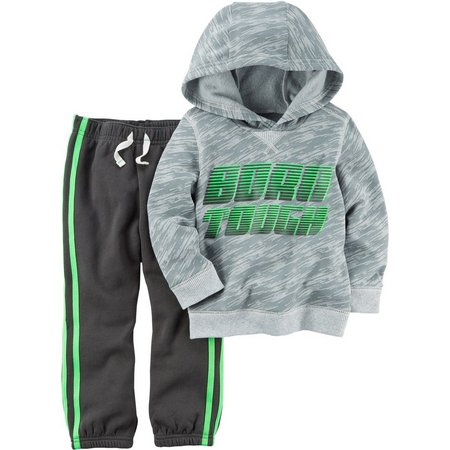 Carters Toddler Boys Born Tough Hoodie Set