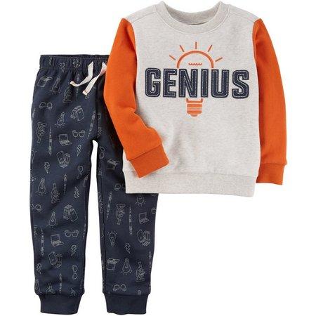 Carters Toddler Boys Genius Pants Set