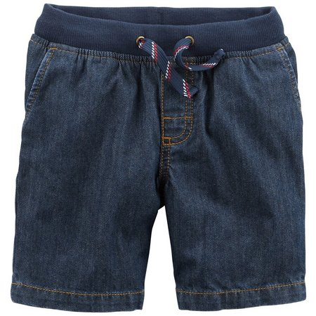 Carters Toddler Boys Pull-On Denim Dock Shorts
