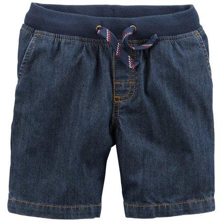 Carters Toddler Boys Pull-On Denim Dock Shorts