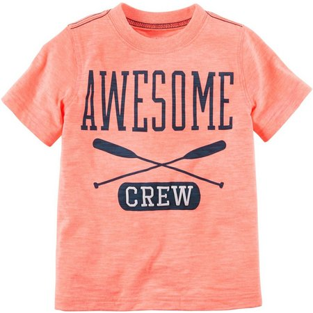 Carters Toddler Boys Awesome Crew T-Shirt