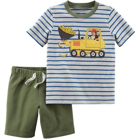 Carters Toddler Boys Banana Loader Shorts Set