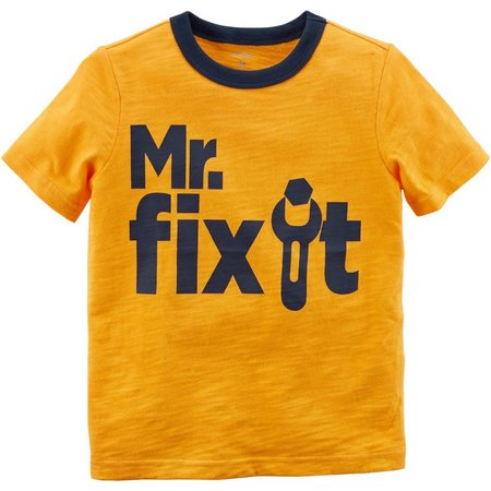 Carters Toddler Boys Mr. Fix It T-Shirt