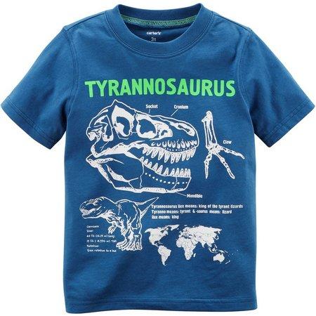 Carters Toddler Boys Tyrannosaurus T-Shirt