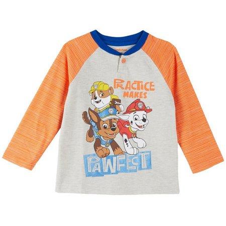 Nickelodeon Paw Patrol Toddler Boys Henley T-Shirt