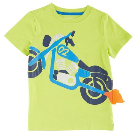 Kidtopia Toddler Boys Motorcycle T-Shirt